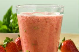 Strawberry Summer Protein Smoothie