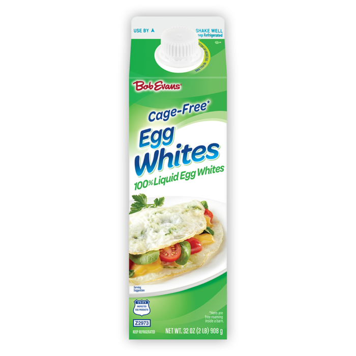 Bob Evans® Cage-Free Egg Whites 32 oz. Carton (California Only)