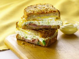 Egg & Prosciutto Panini