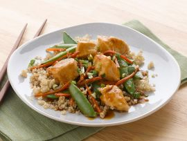 Velveted Chicken & Veggie Stir-Fry