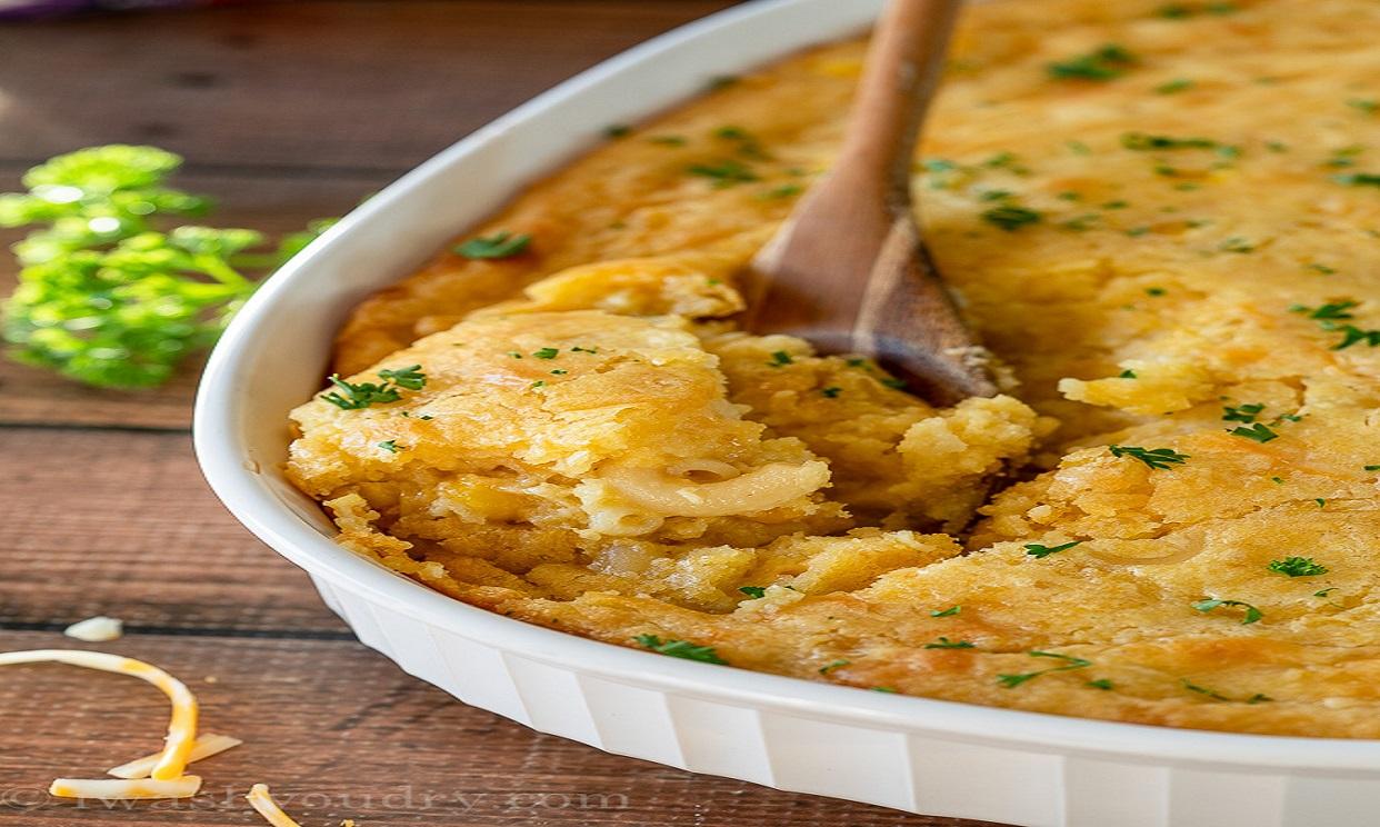 Macaroni Corn Pudding Casserole