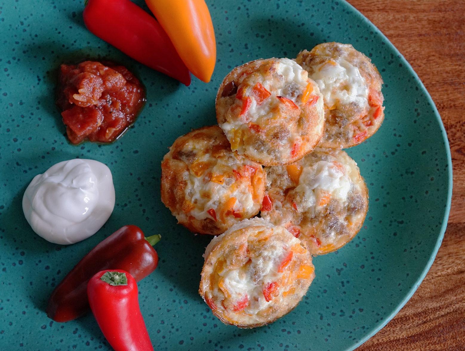 Easy and Healthy Mexican Breakfast Cups