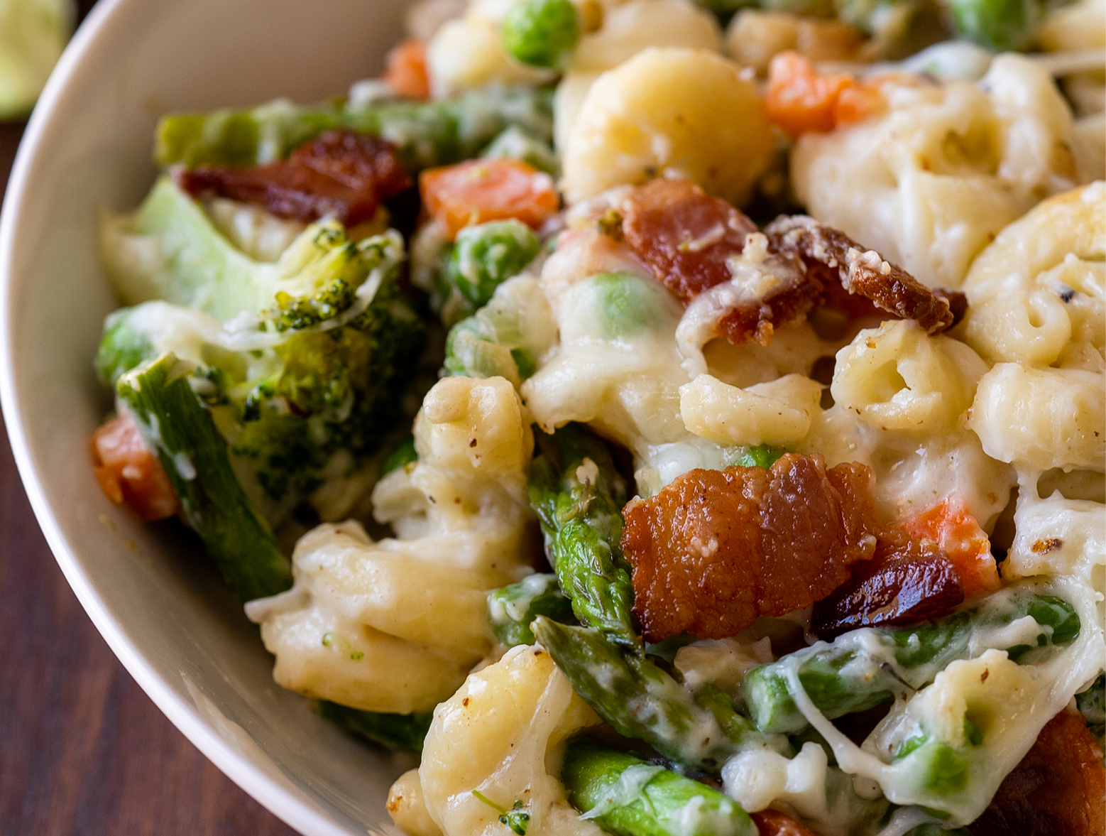 Veggie Baked Macaroni and Cheese