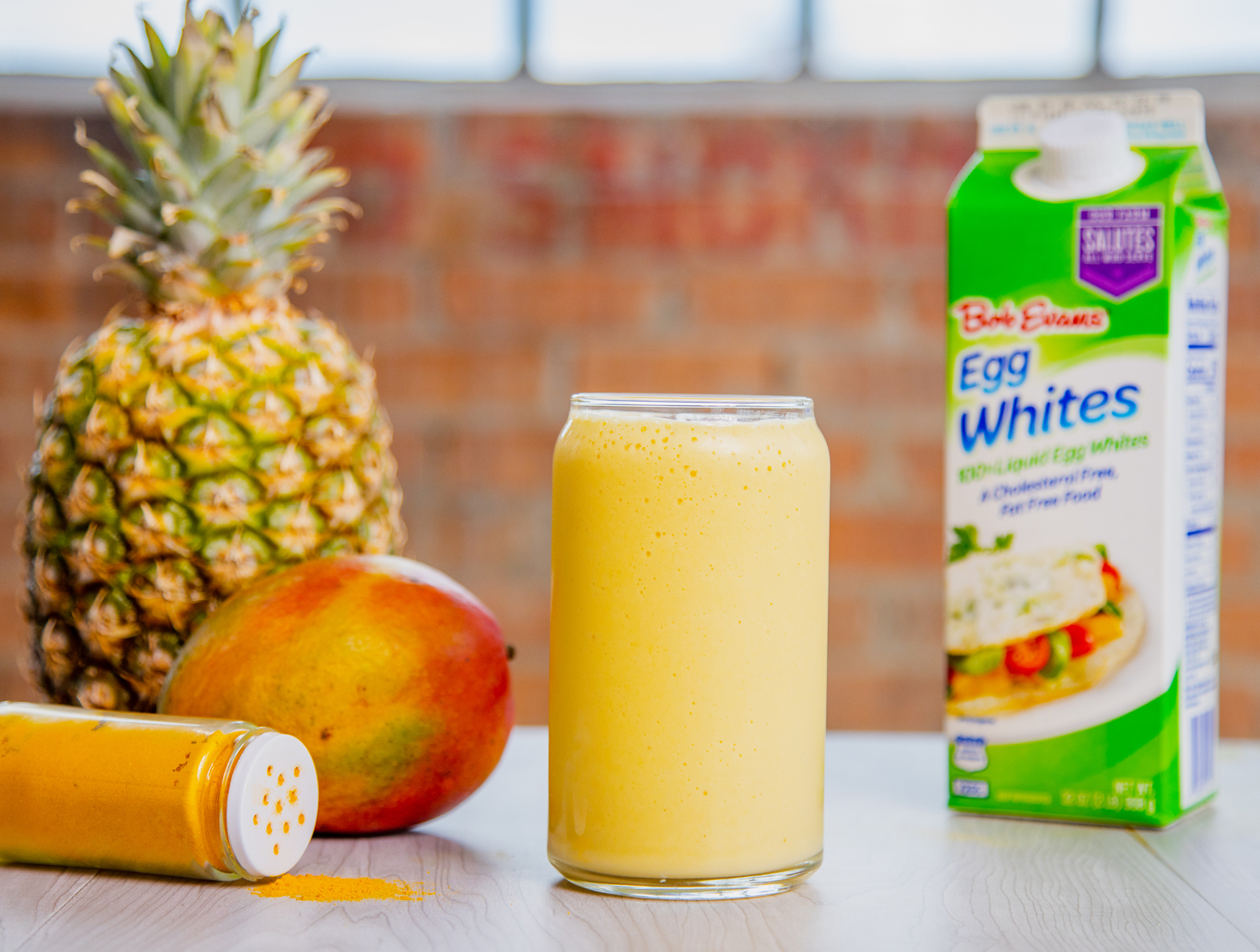 Tropical Mango Pineapple Smoothie