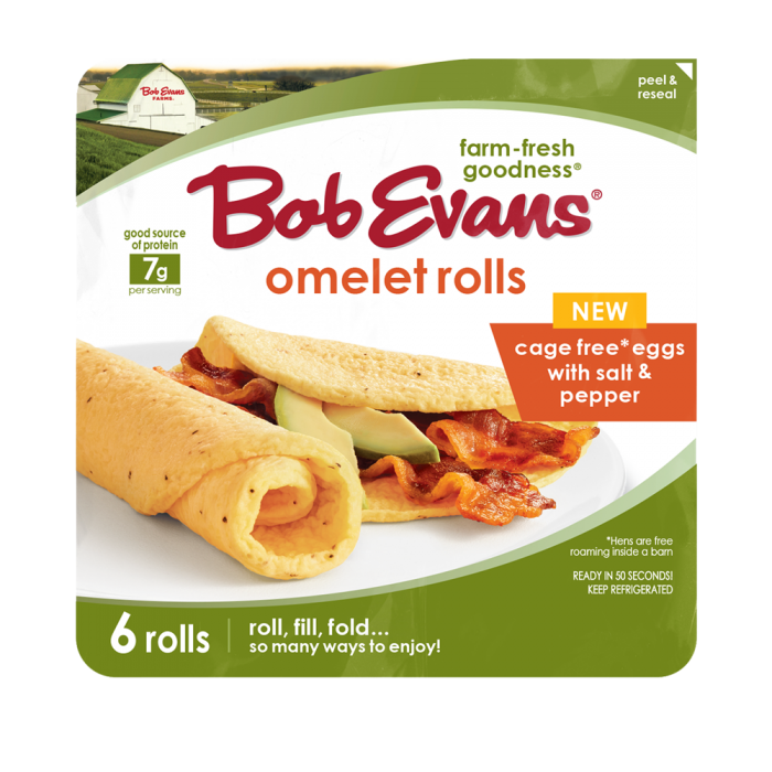 Bob Evans Omelet Roll with Salt, Pepper and Butter Flavor